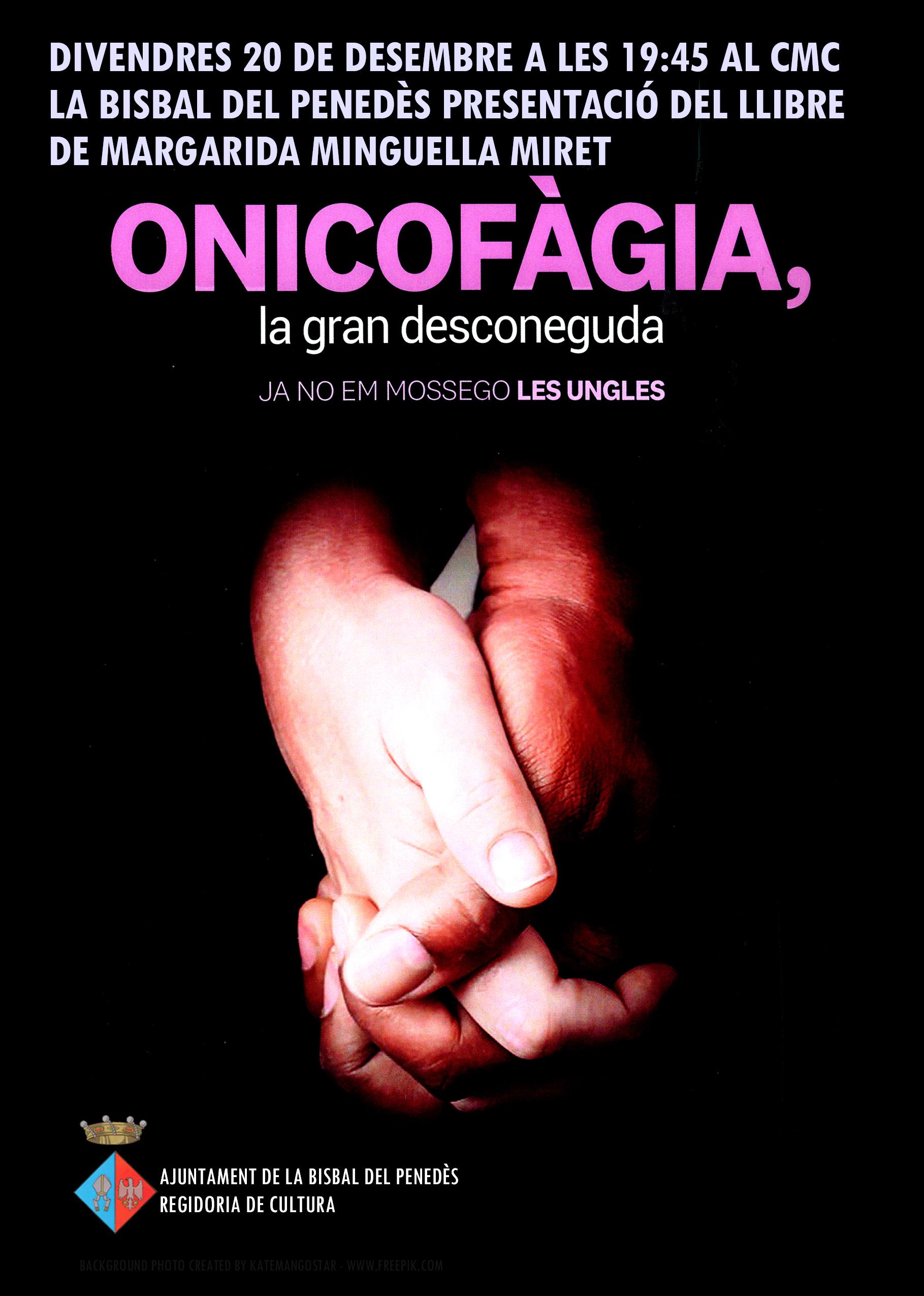 La vendrellenca Margarida Minguella presentarà el seu llibre 'Onicofàgia' al CMC el proper divendres 20 de desembre