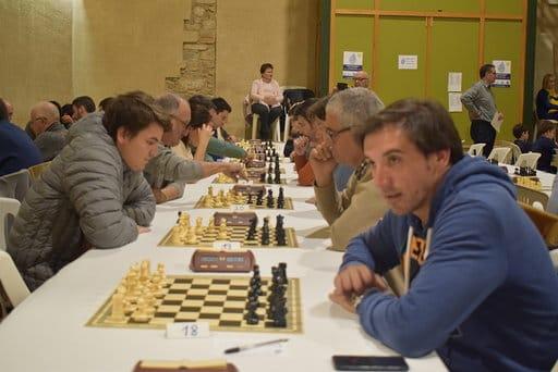 Tres bisbalencs van participar en el Torneig solidari d'escacs riuada del Francolí el passat cap de setmana