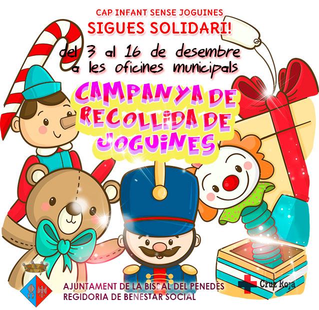 Fins al 16 de desembre podeu participar en la iniciativa 'Cap infant sense joguines'