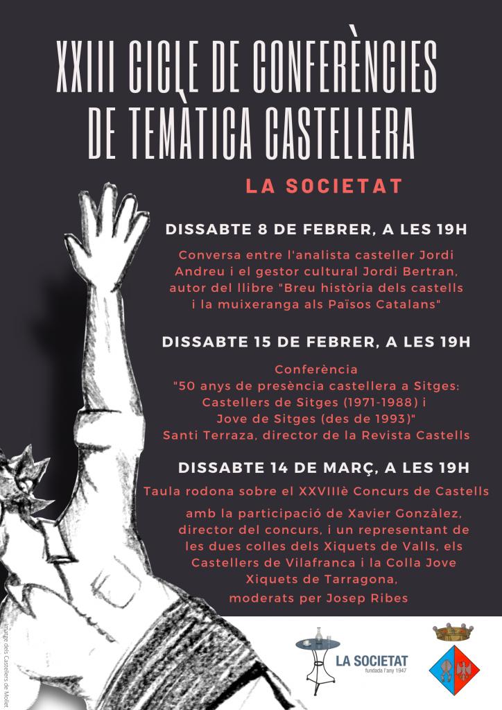 Cartell ConferEncies Castelleres 2020