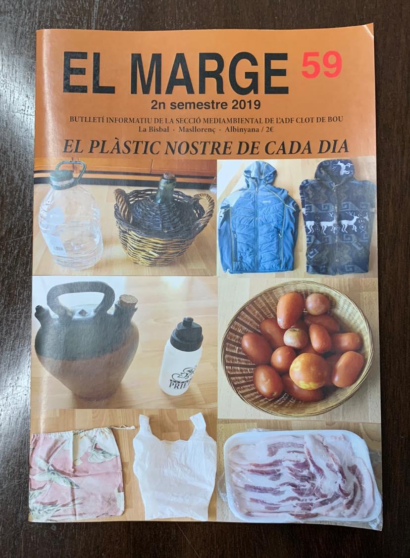 La revista El Marge s'acomiada amb una darrera edició dedicada al plàstic