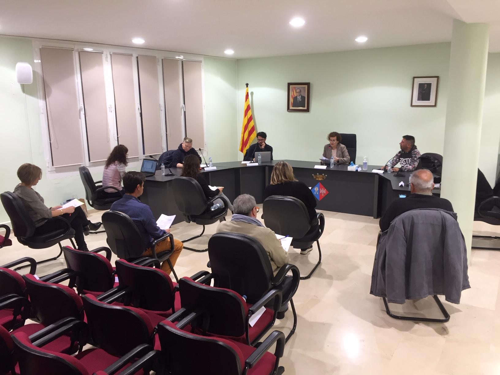 El dilluns 16 de març es va celebrar el Ple Ordinari de l'Ajuntament de la Bisbal del Penedès