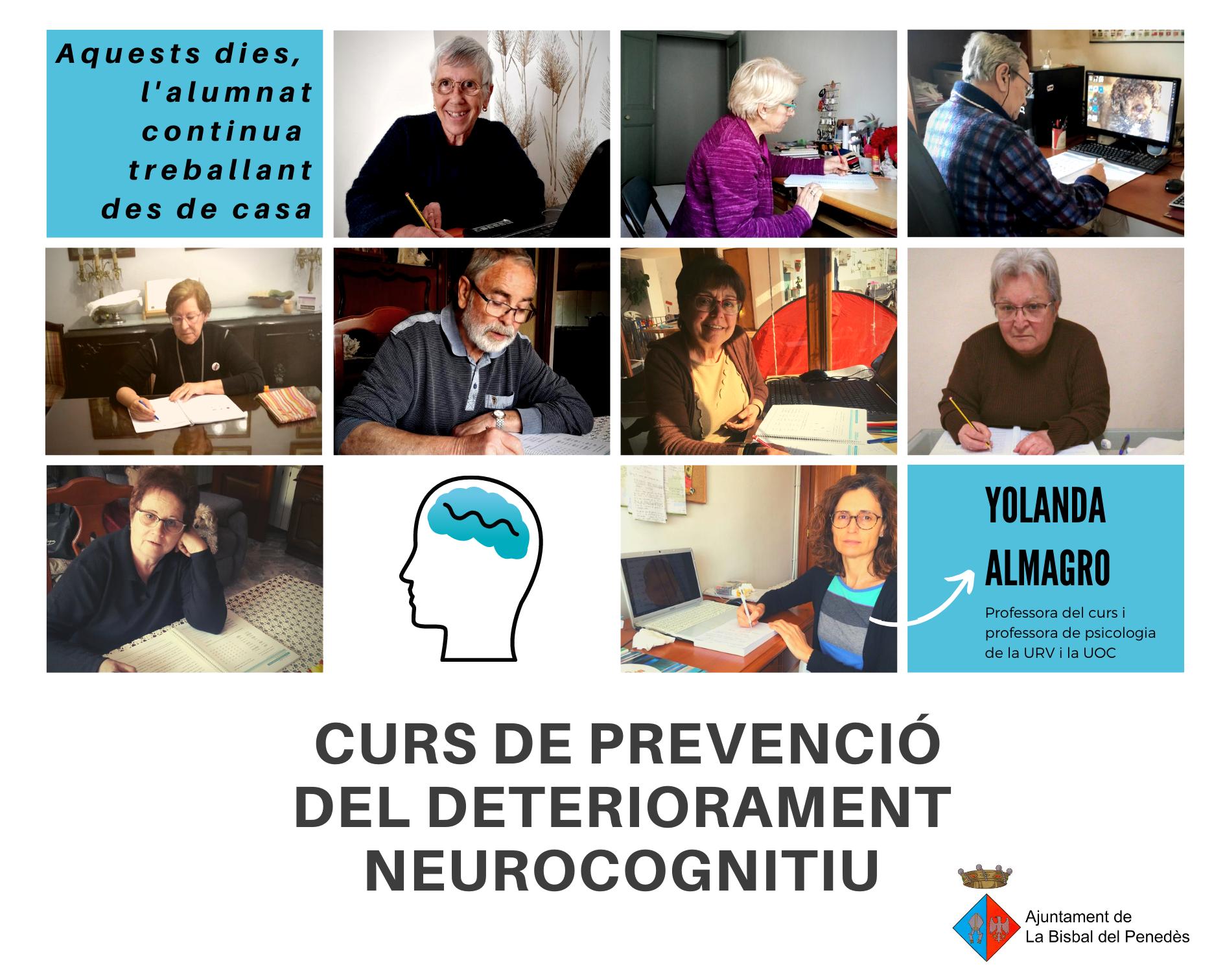 Les noves tecnologies permeten que el curs de prevenció del deteriorament neurocognitiu continuï tot i la situació d'alarma generada pel Covid-19