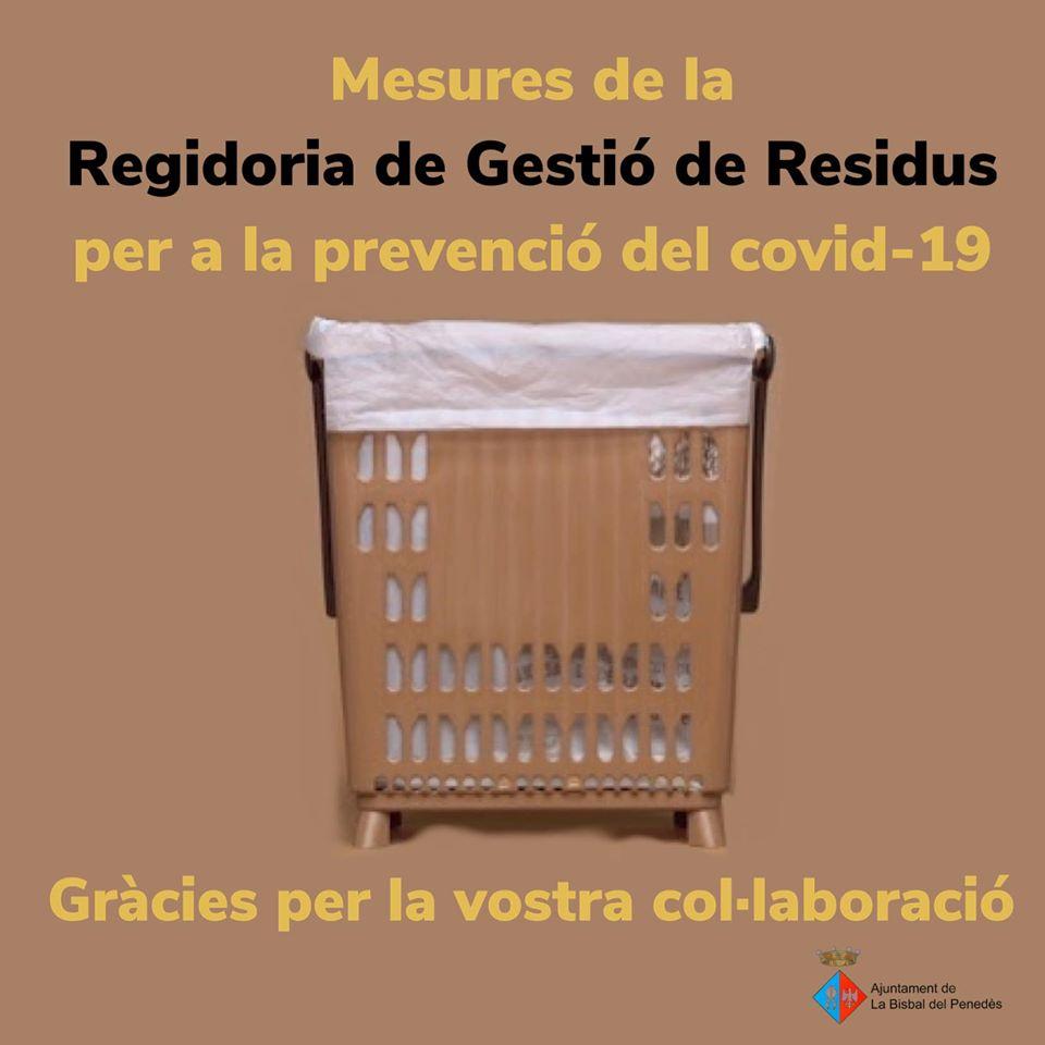 Mesures per a la recollida d'escombraries 'porta a porta' i per a la recollida mitjançant contenidors