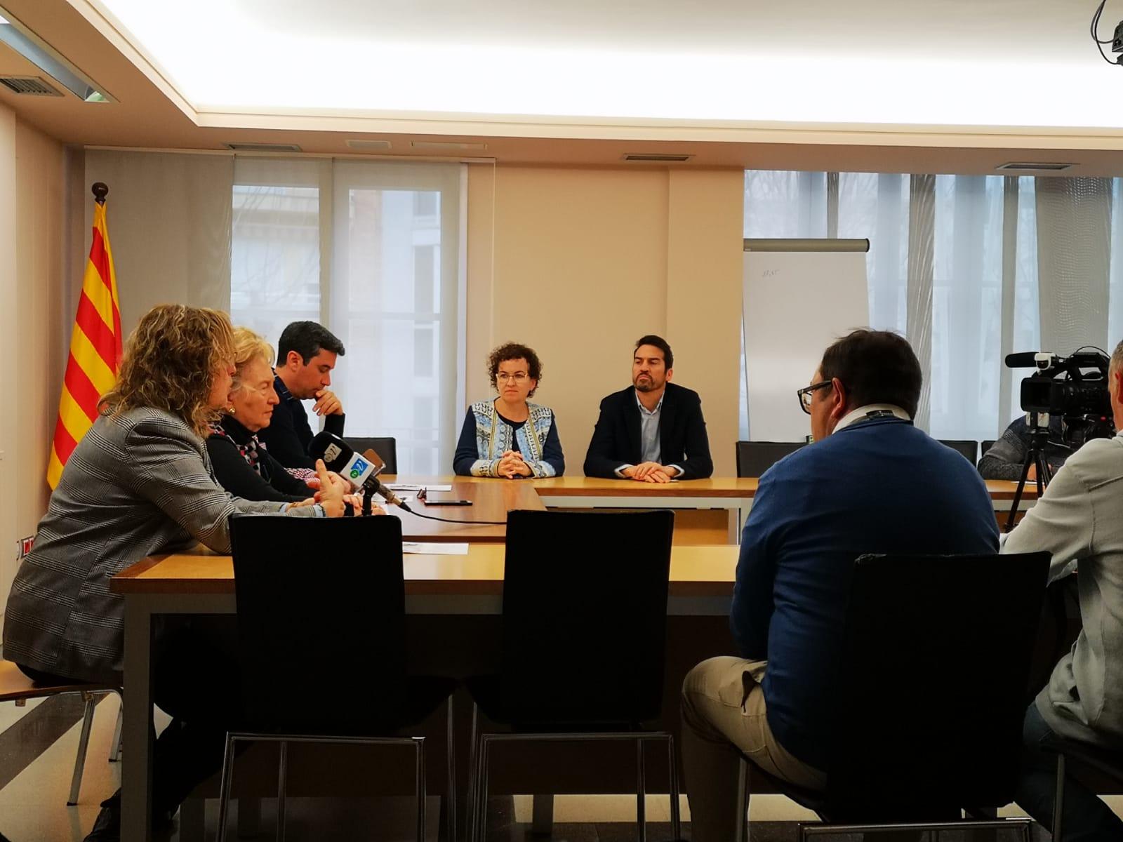 Aquest dimarts s'ha presentat la 1a Fira de l'Ocupació i l'Emprenedoria del Baix Penedès