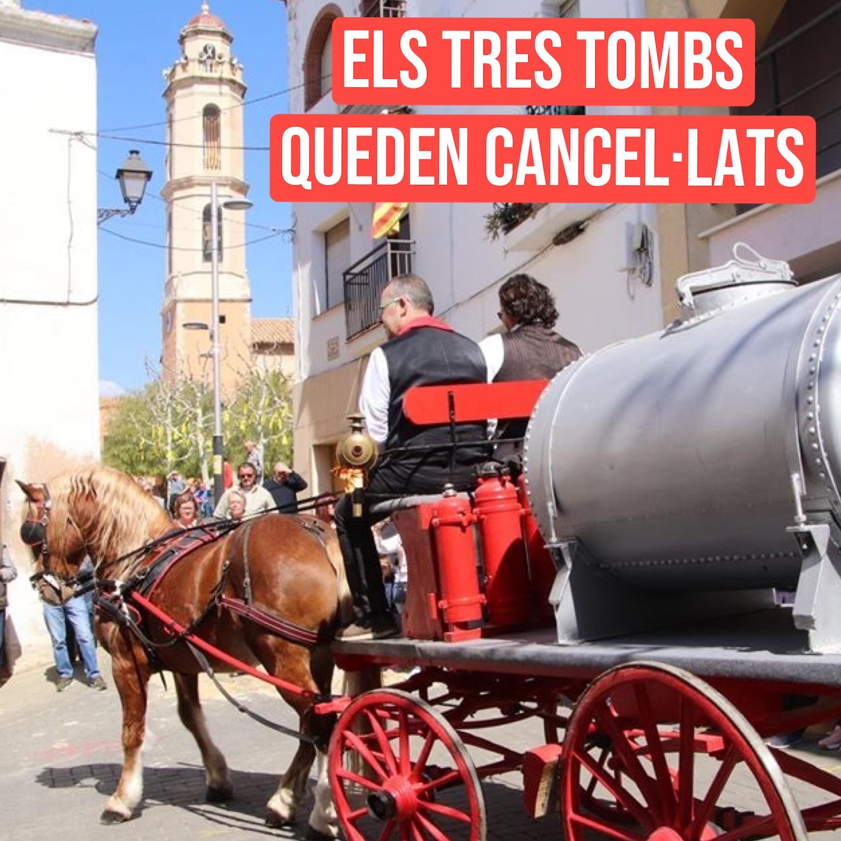 L'Ajuntament de la Bisbal del Penedès suspèn la celebració dels Tres Tombs d'enguany