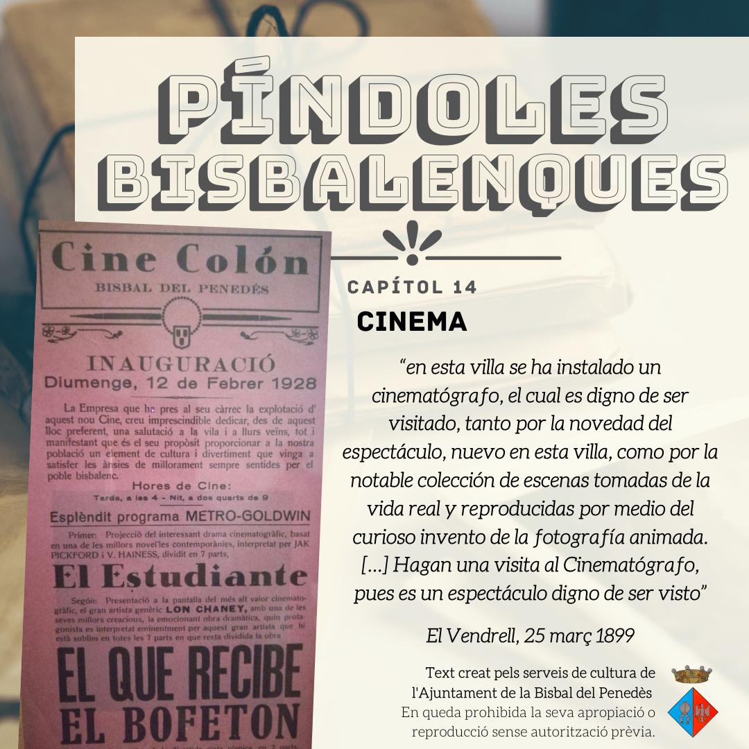 Píndoles Bisbalenques: el cinema a la Bisbal