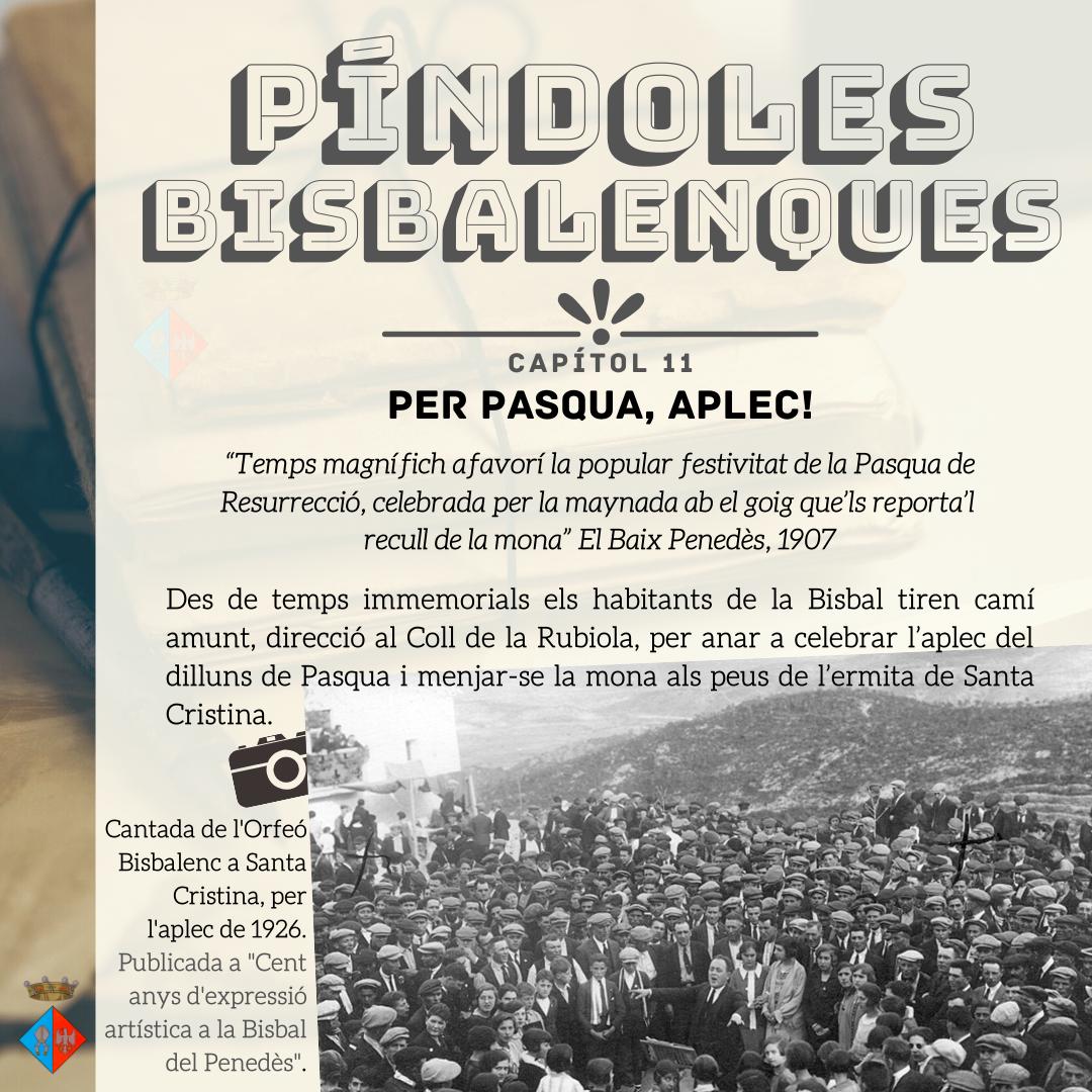 Nova Píndola Bisbalenca: el Dilluns de Pasqua i l'Aplec de Santa Cristina