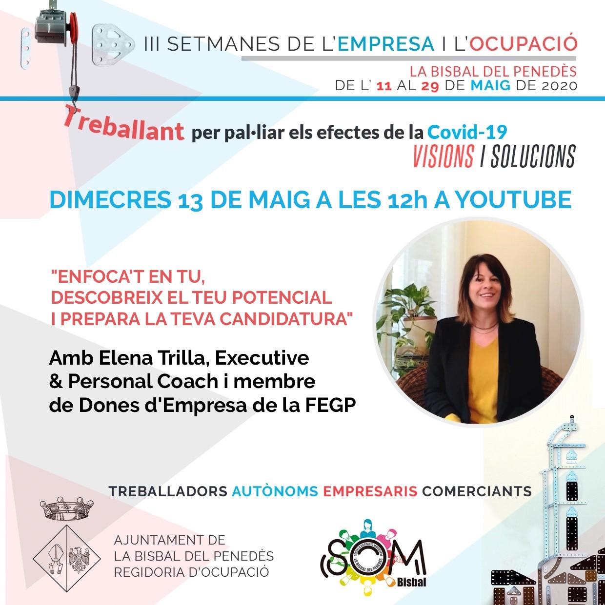 Busques feina? Aquest vídeo amb consells de l'Elena Trilla Coach et podria interessar