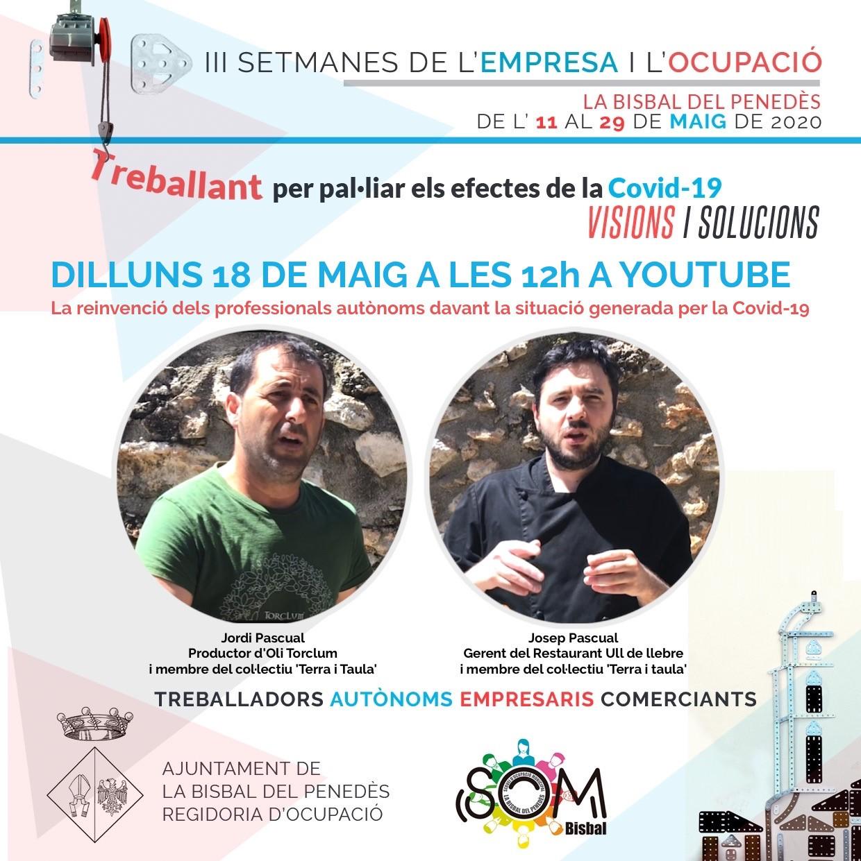 Xerrada amb dos bisbalencs membres del col·lectiu Terra i Taula: Jordi Pascual (Oli Torclum) i Josep Pascual (Rest. Ull de Llebre)