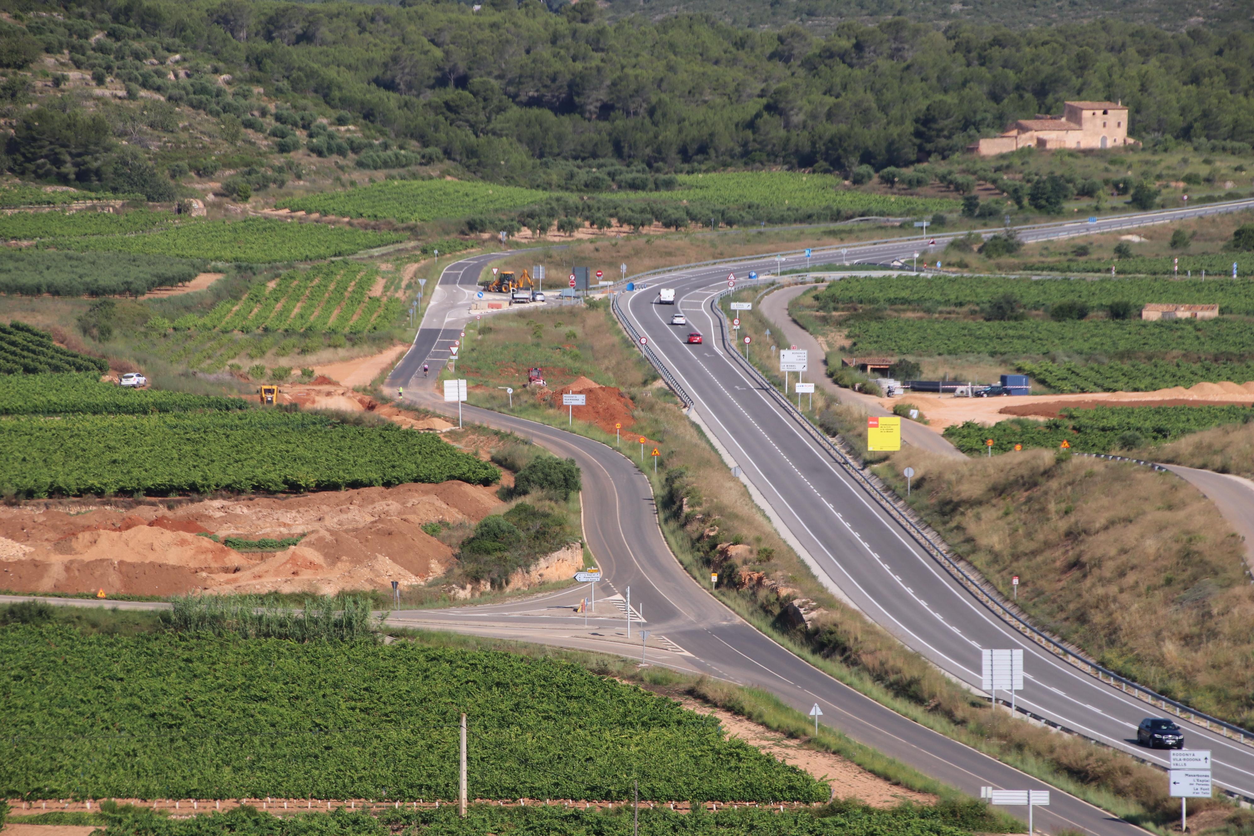 Avís d'afectacions en el trànsit per la construcció de la rotonda de la C-51