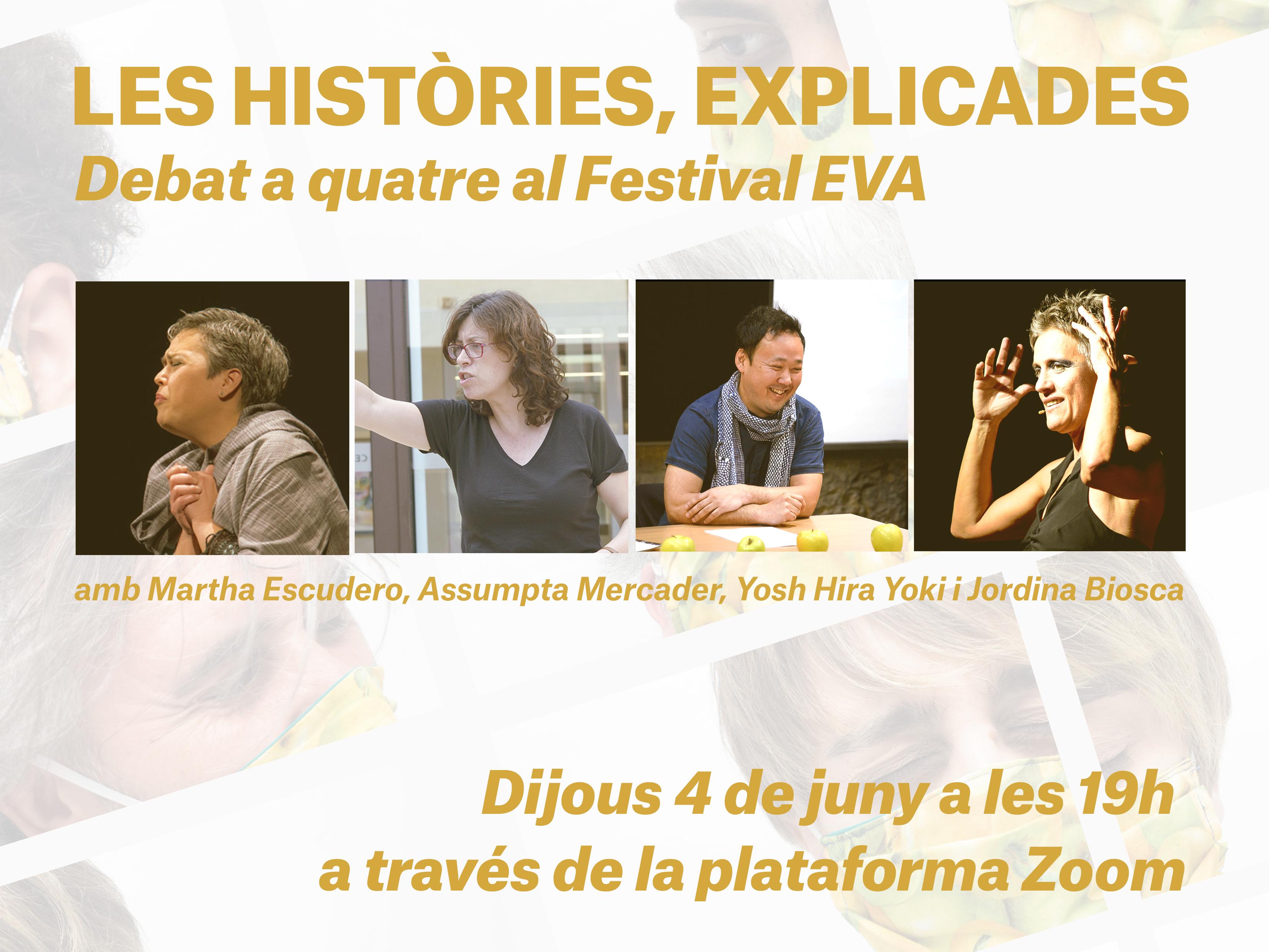 El Festival EVA es reformula i comença amb un debat a Zoom i amb els #TastetsEVA a les xarxes i a la televisió