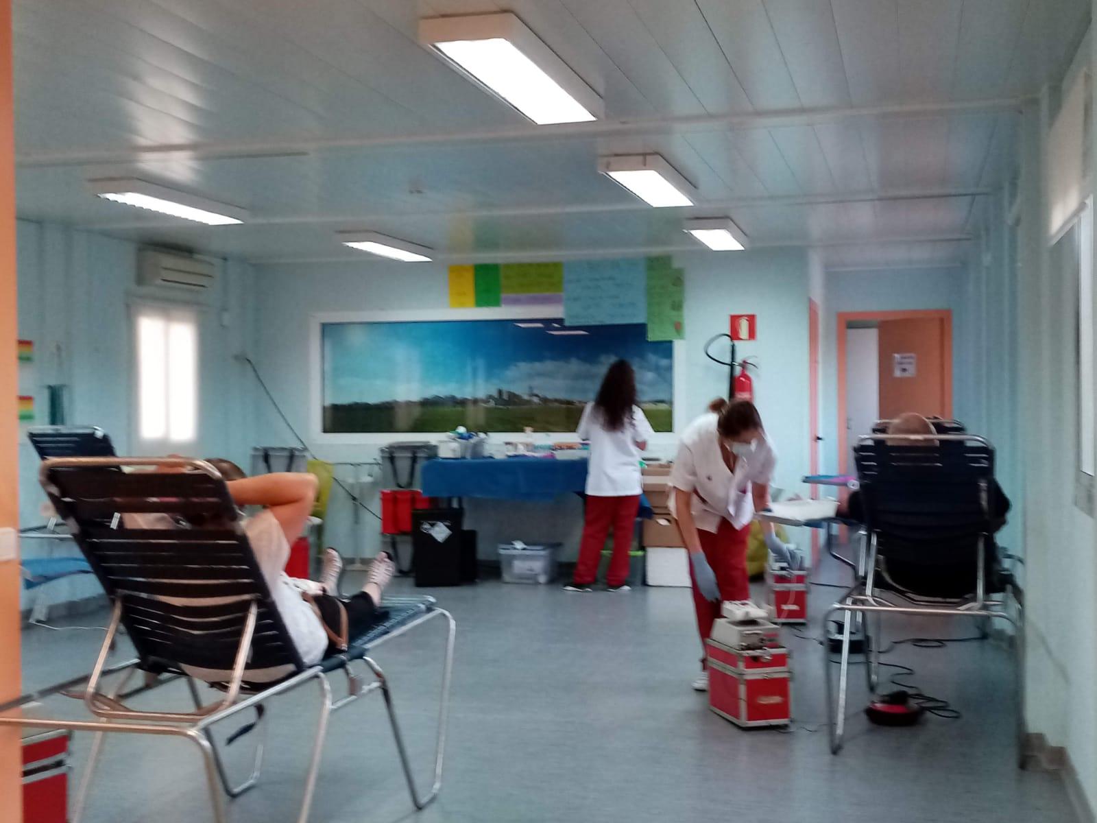 38 persones han donat sang a la Bisbal del Penedès aquest dijous 9 de juliol