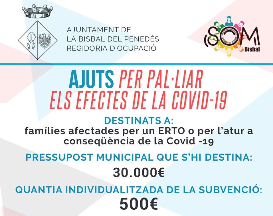 Continua procediment per aprovar els beneficiaris de les subvencions per a persones i unitats familiars afectades per la Covid-19