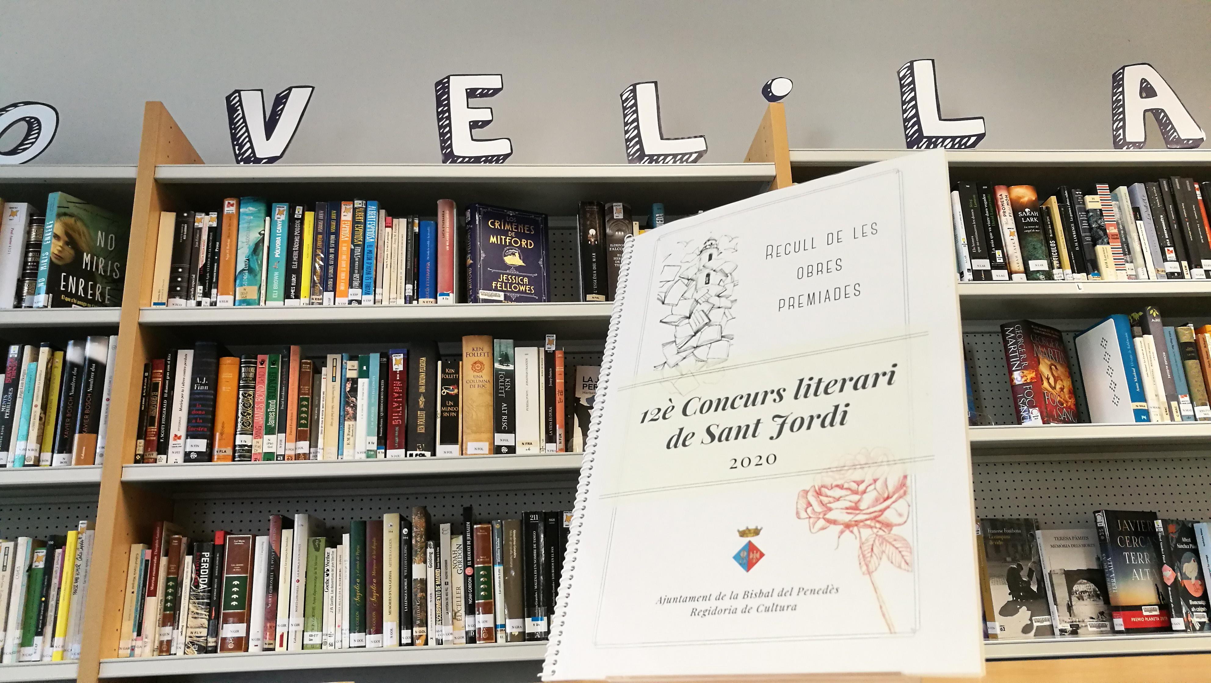 S'aproven les bases del 13è Concurs Literari de Sant Jordi