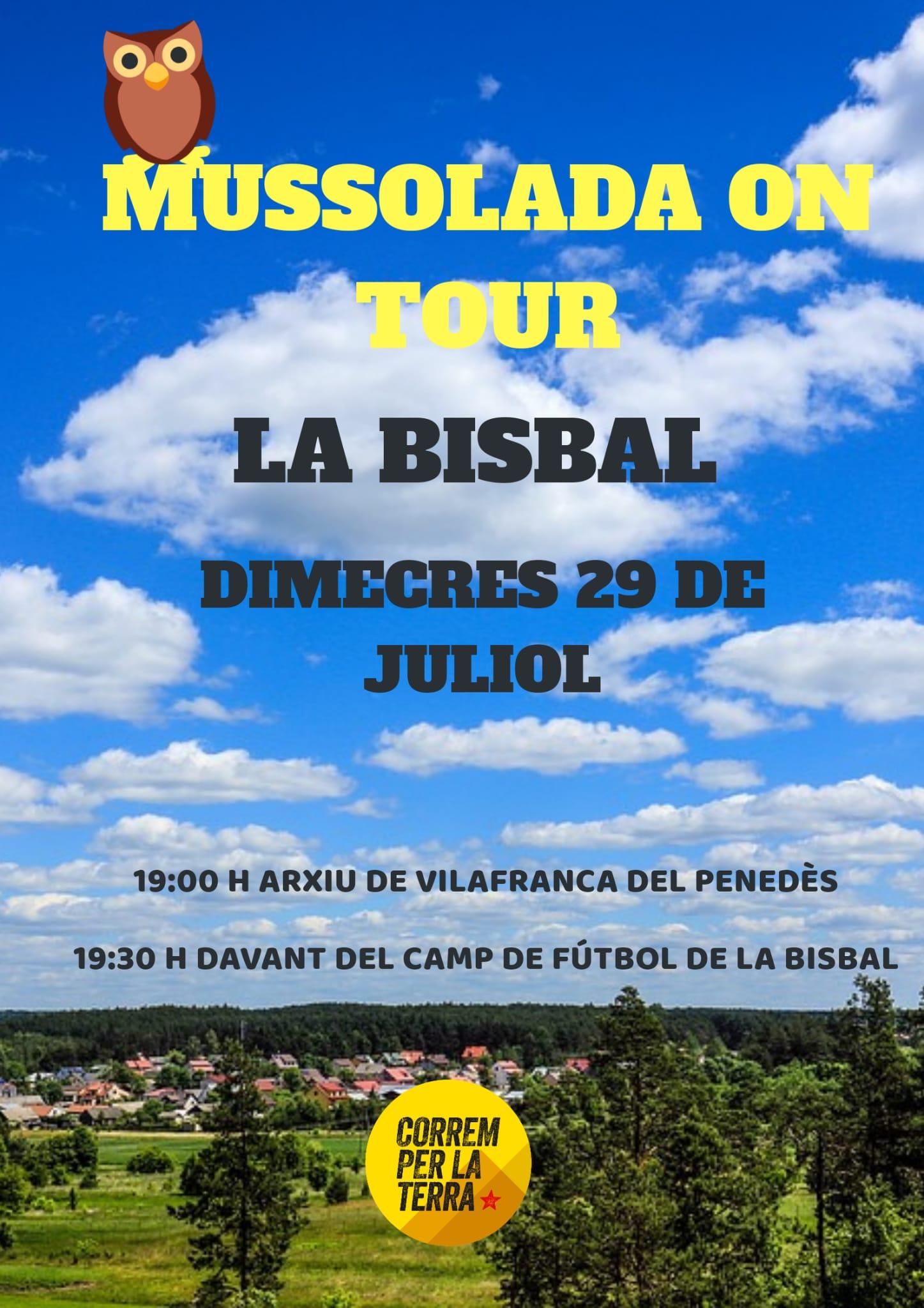 Aquest dimecres podreu córrer amb Les Mussolades On Tour a la Bisbal