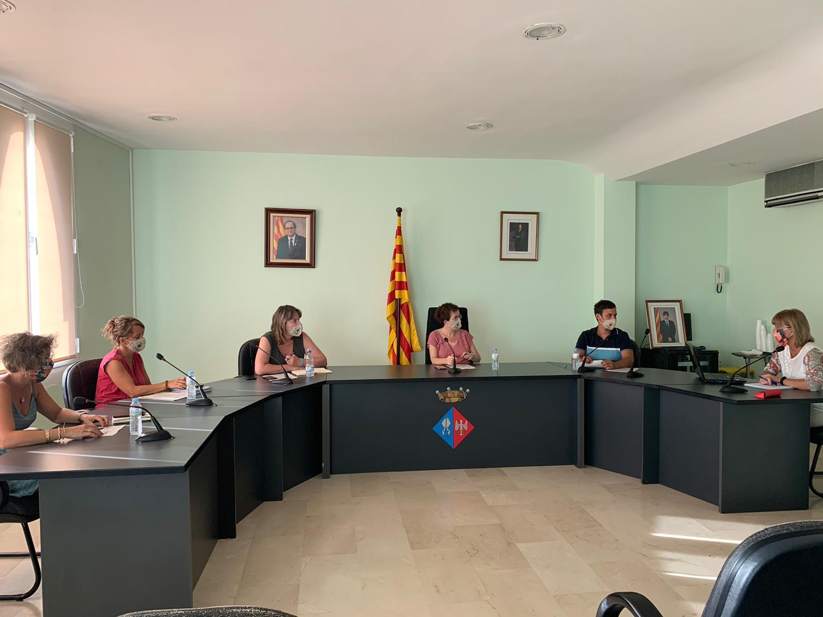 S'aprova un punt de la Junta de Govern amb competències delegades del Ple