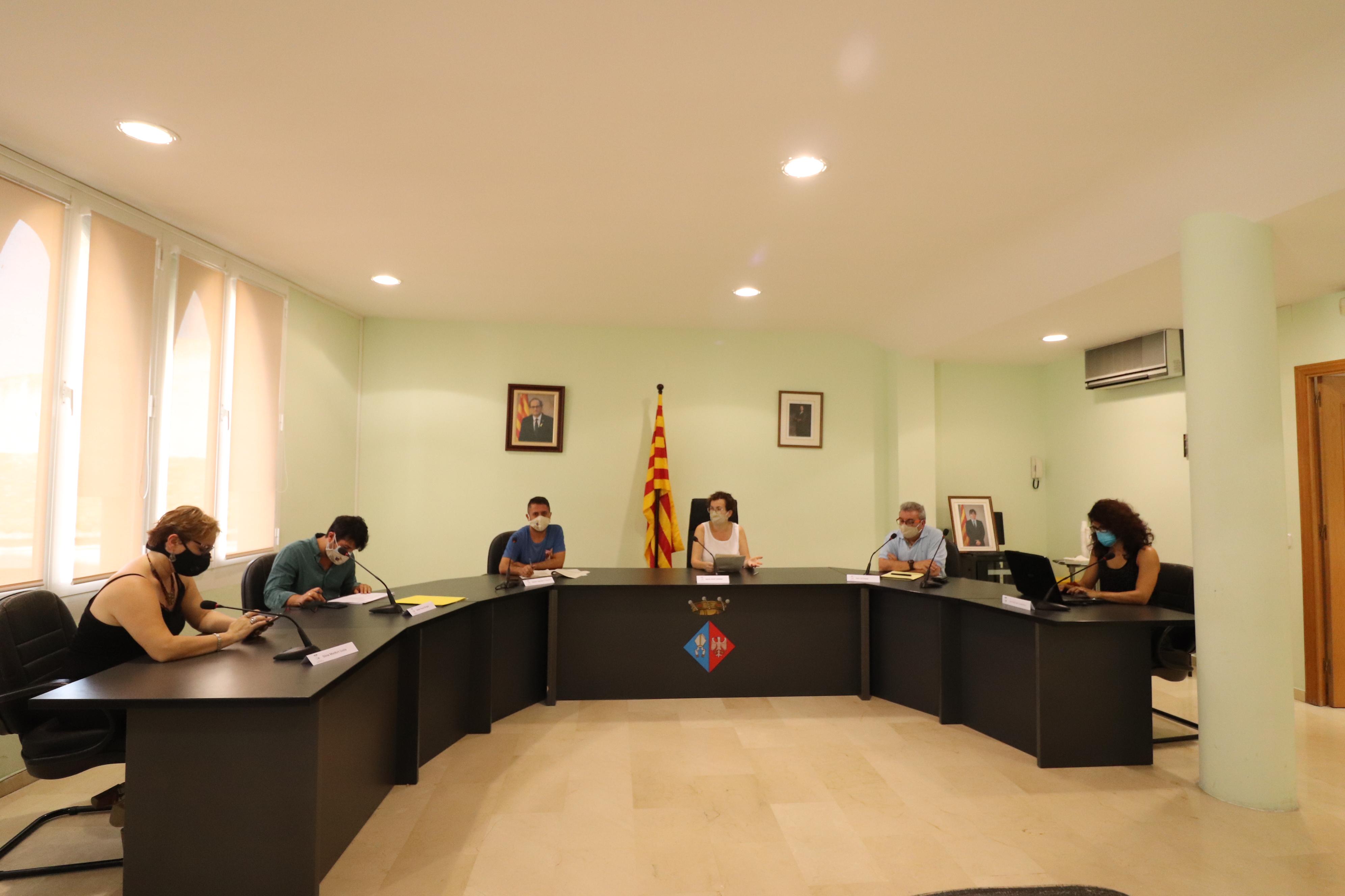 Aquest divendres 21 d'agost ha tingut lloc la Comissió Especial de Comptes de l'Exercici 2019