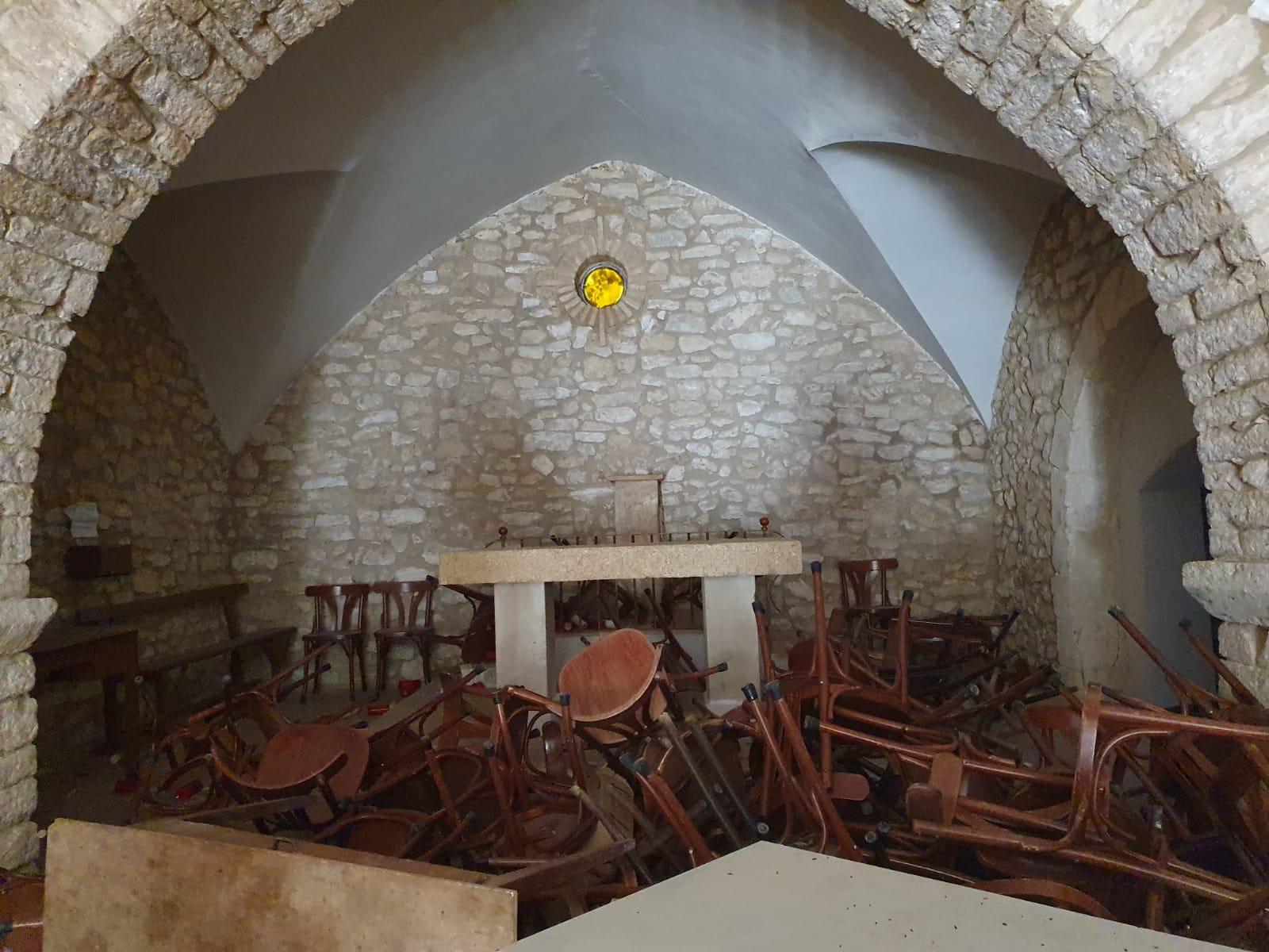 L'Ermita de Santa Cristina ha patit actes vandàlics en els últims dies