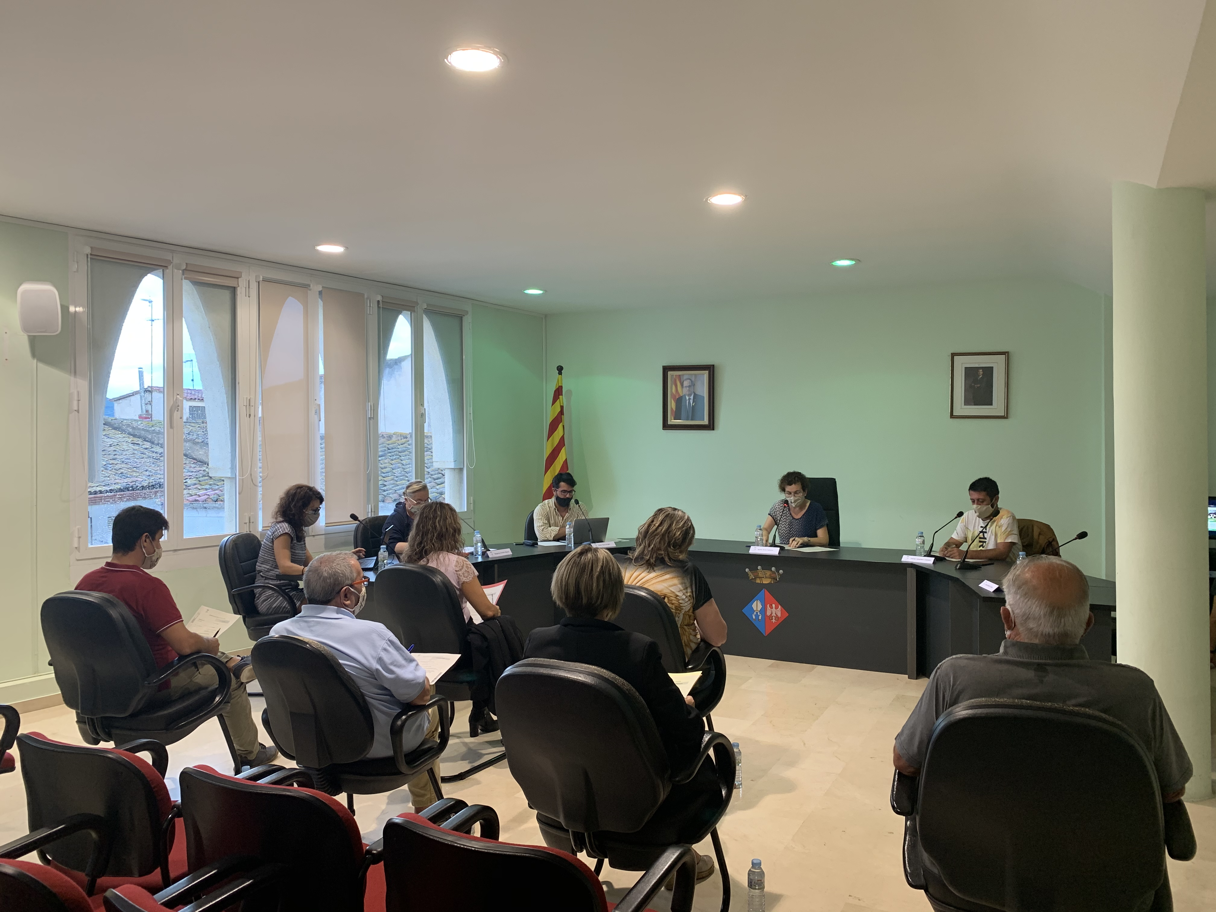 Aquest dilluns 21 de setembre s'ha celebrat el Ple Ordinari de l'Ajuntament de la Bisbal del Penedès