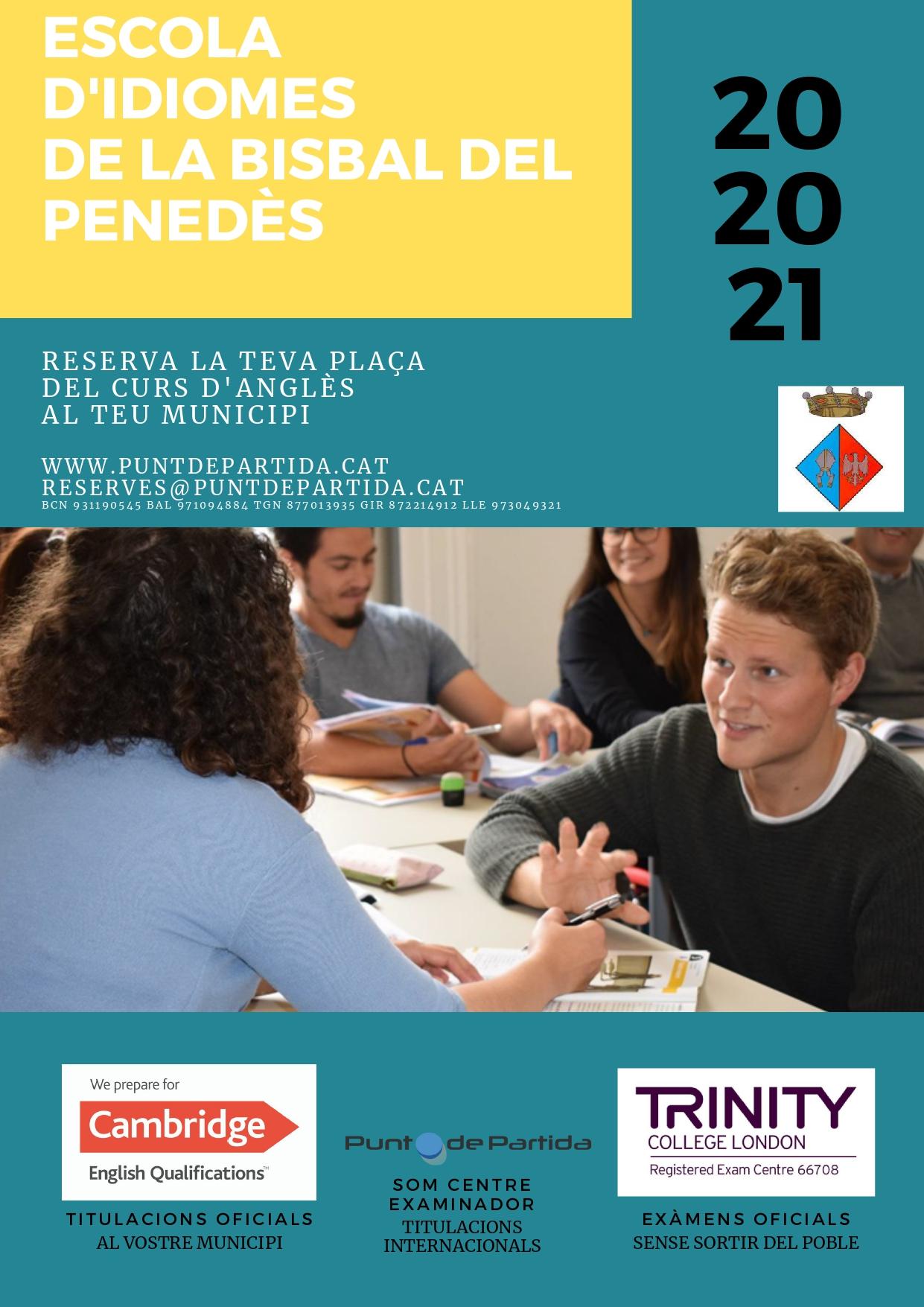 L'1 d'octubre comença un nou curs de l'Escola d'Idiomes de la Bisbal del Penedès