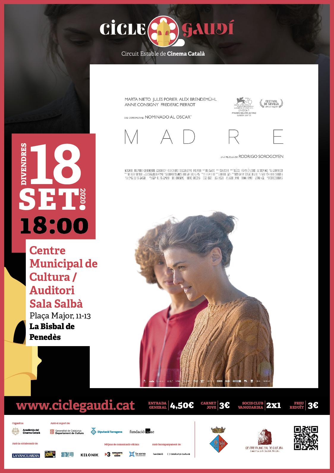 Aquest mes de setembre torna el Cicle Gaudí amb sessió doble: 18 i 26 de setembre