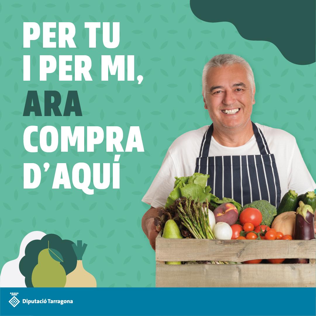 Per tu i per mi, ara compra d'aquí – Campanya per promoure els comerços d'alimentació locals