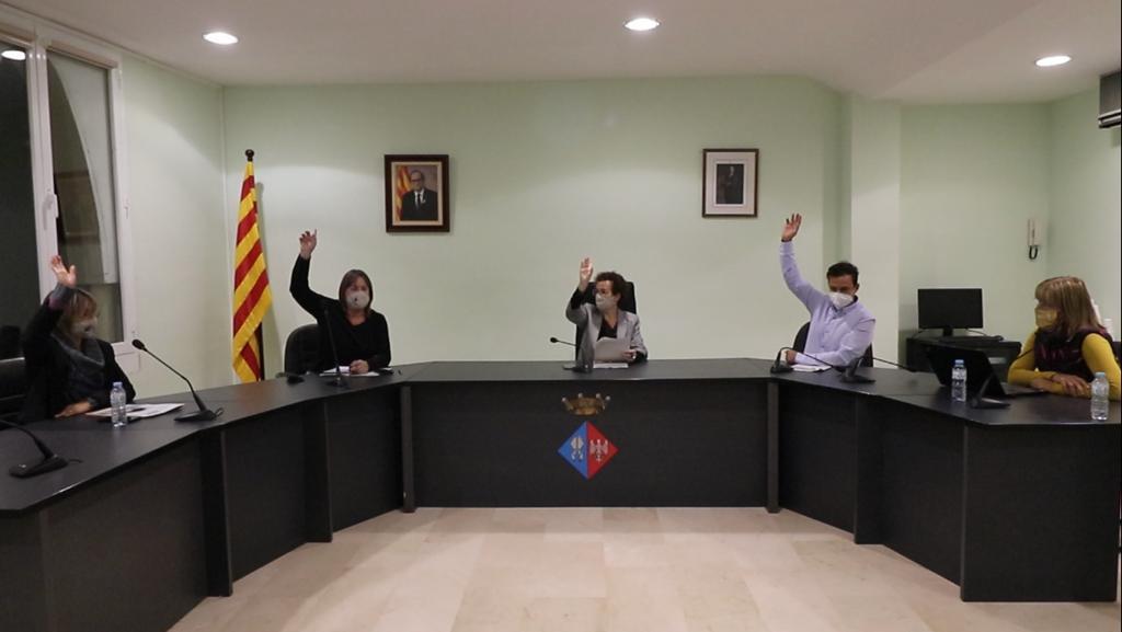L'ordre del dia de la propera Junta de Govern inclou quatre punts amb Competències Delegades del Ple
