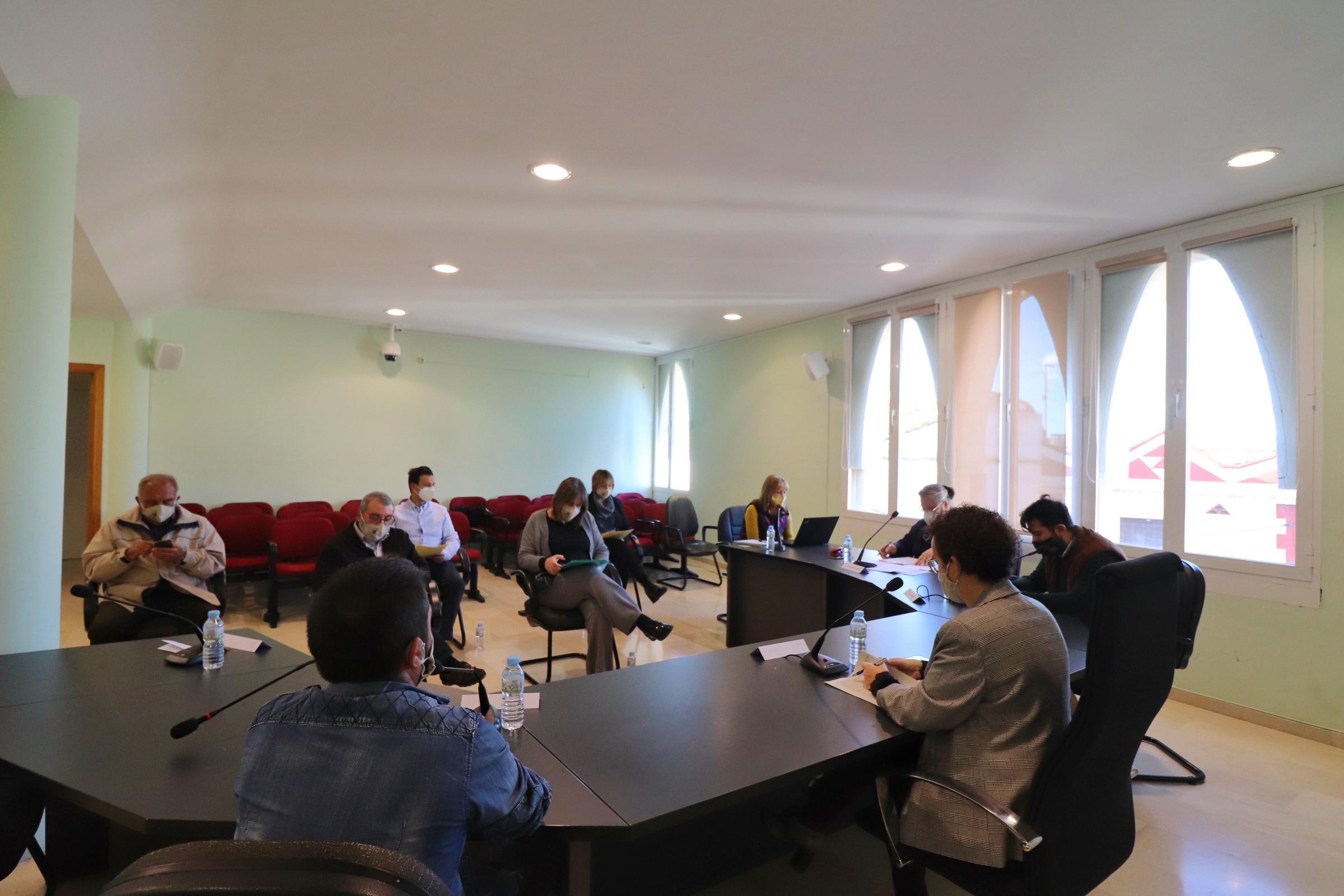 Aquest dilluns 26 d'octubre de 2020 s'ha celebrat un Ple extraordinari a l'Ajuntament de la Bisbal del Penedès