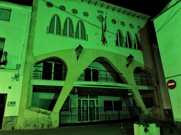 L'Ajuntament de la Bisbal del Penedès s'il·luminarà de verd aquest dijous al vespre en commemoració del Dia internacional de la Síndrome de Phelan-McDermid