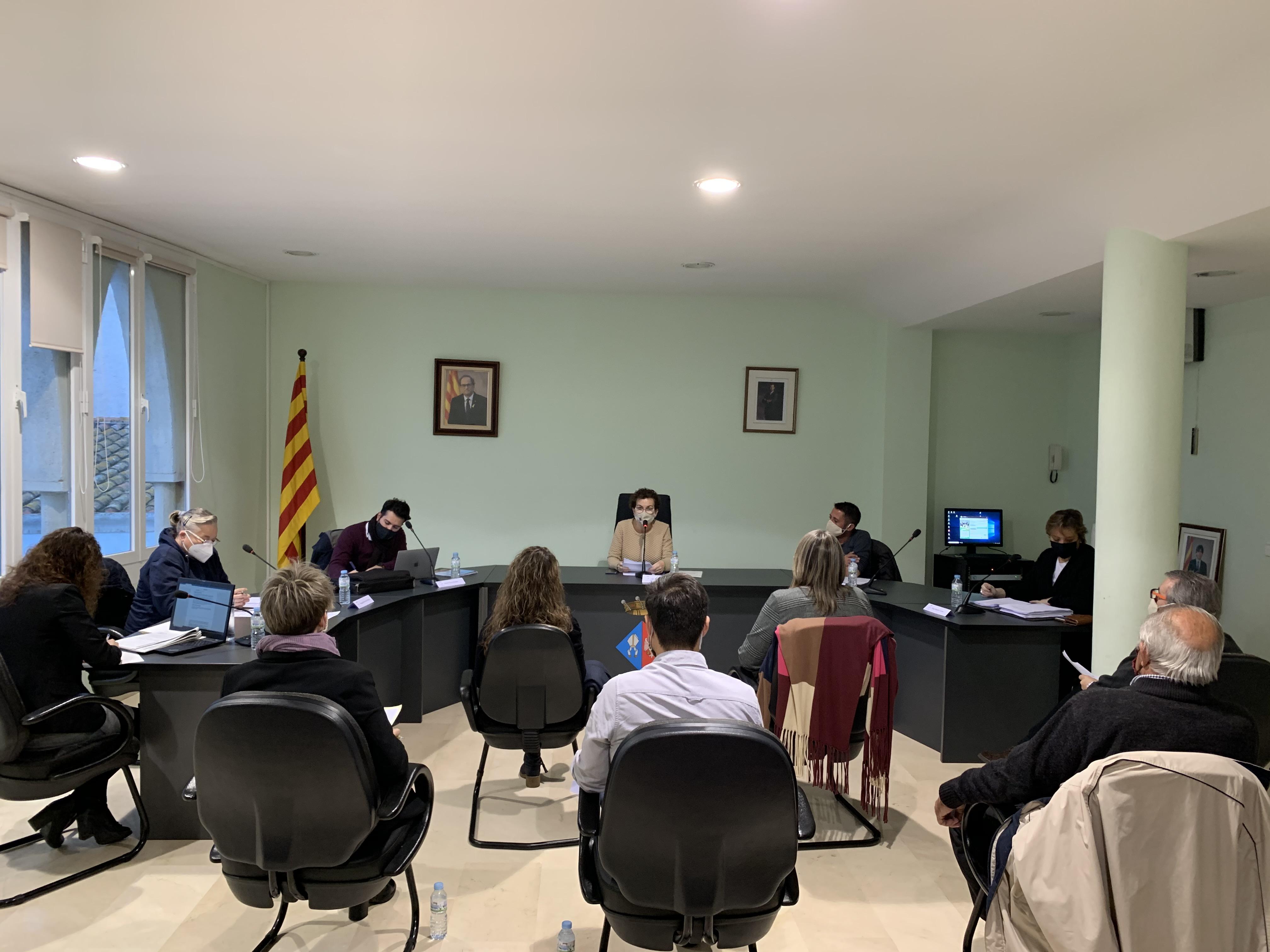 Aquest dimecres 25 de novembre de 2020 s'ha celebrat un Ple extraordinari a l'Ajuntament de la Bisbal del Penedès