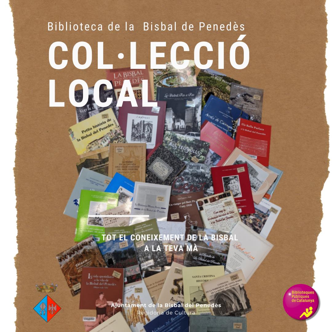 La Biblioteca pública ha ampliat la col·lecció local i podeu agafar els llibres en préstec