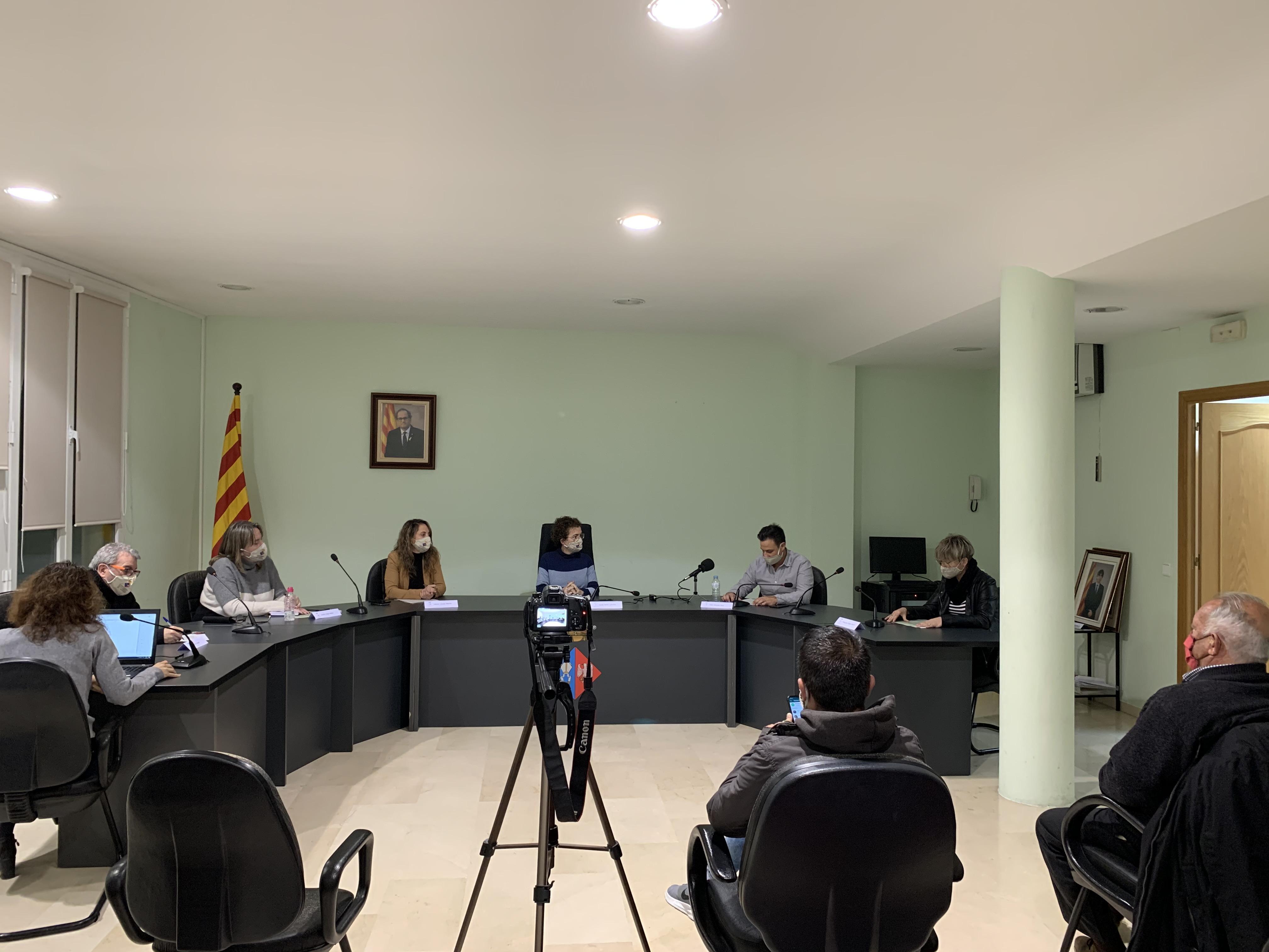 Aquest dilluns s'han aprovat dos punts de la Junta de Govern amb competències delegades del Ple