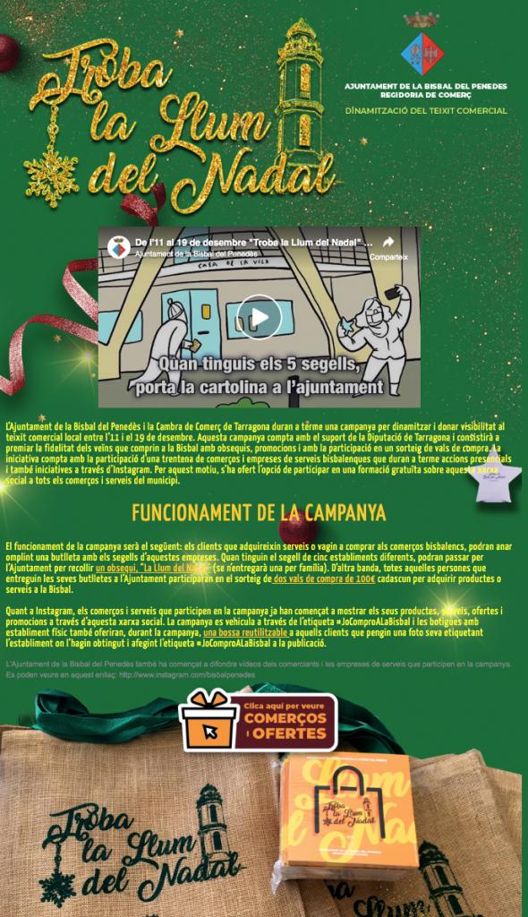 CAPTURA PANTALLA LLUM DE NADAL LLISTAT