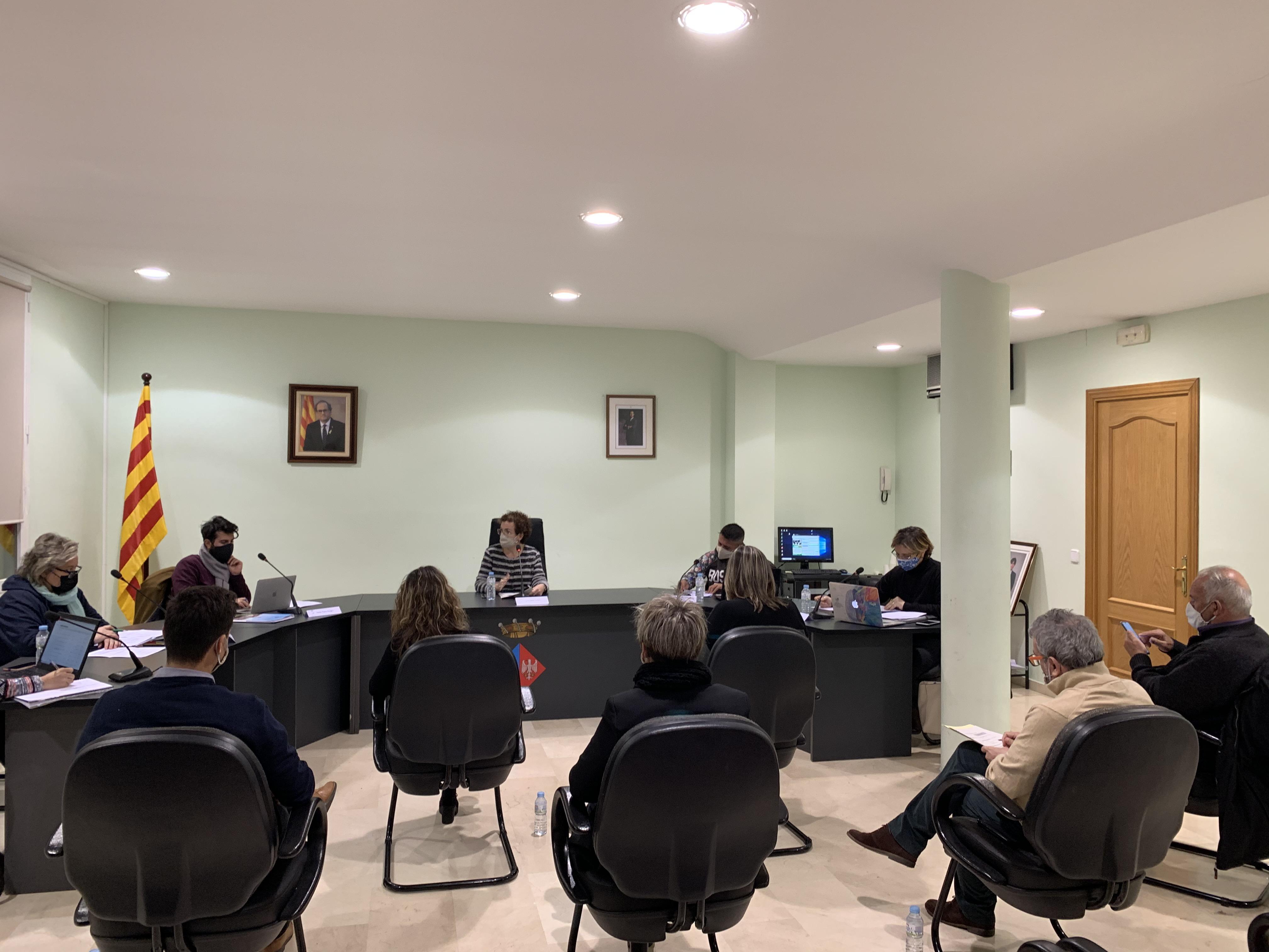 Aquest dilluns 21 de desembre s'ha celebrat el Ple Ordinari de l'Ajuntament de la Bisbal del Penedès