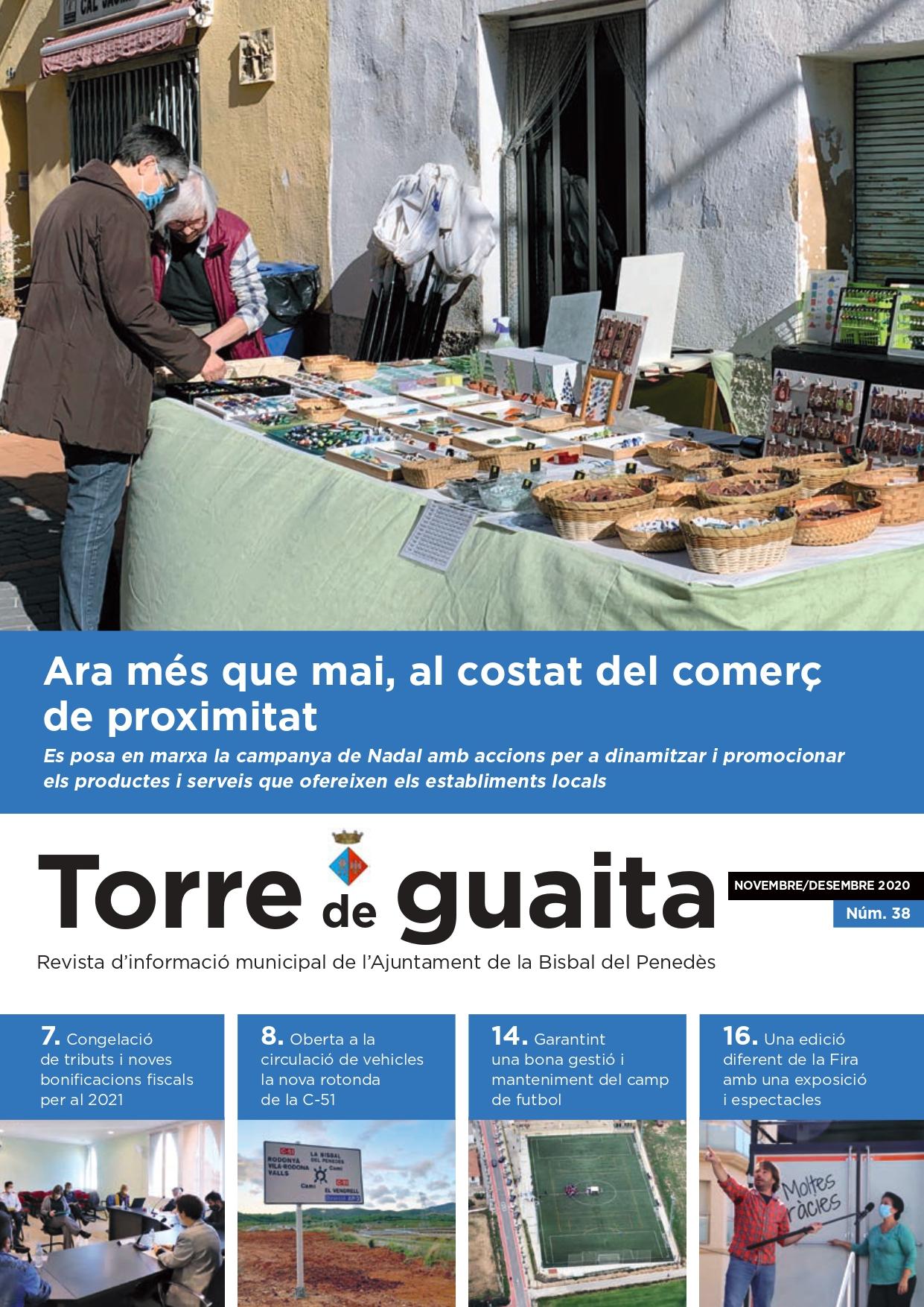 S'ha començat a repartir la revista bimestral 'Torre de Guaita' per totes les cases