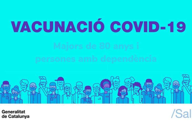El consultori mèdic comença a vacunar les persones més grans de 80 anys i dependents del municipi