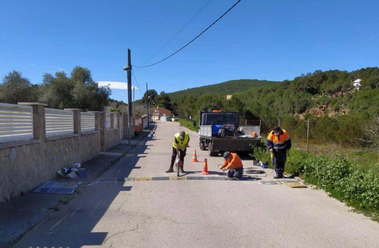 L'equip de govern està treballant en millores en carrers i voreres de l'Esplai després d'escoltar les demandes dels veïns