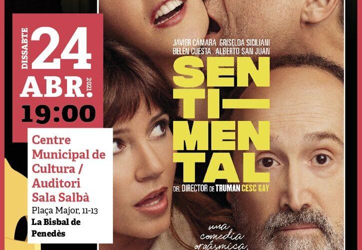 """El dissabte 24 d'abril a les 19h projectarem la pel·lícula """"Sentimental"""" del Cicle Gaudí al CMC"""