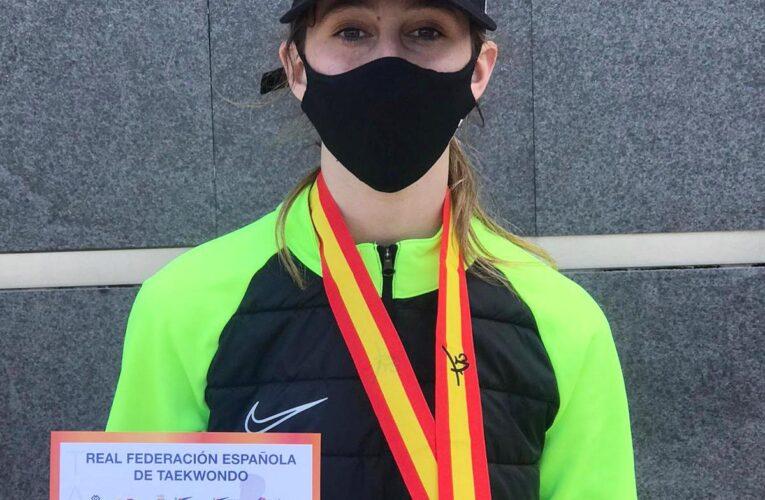 La taekwondista bisablenca Gloria Ruiz ha obtingut la medalla de bronze a l'Open Internacional d'Espanya