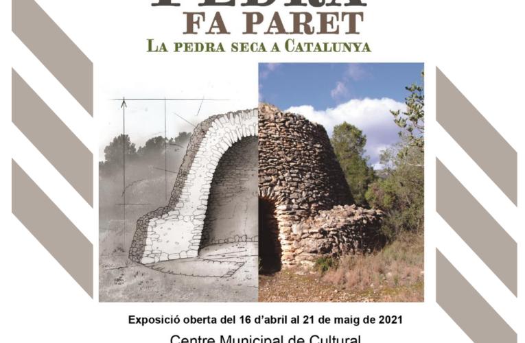 """Del 16 al 21 de maig podeu visitar l'exposició """"Tota pedra fa paret. La pedra seca a Catalunya"""" al CMC"""