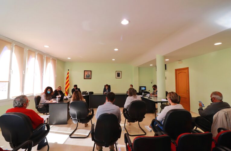Aquest dimecres 12 de maig ha tingut lloc un Ple extraordinari a l'Ajuntament de la Bisbal del Penedès