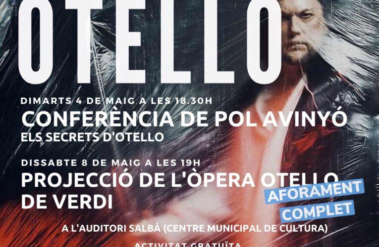 Aforament complet per a la projecció de l'òpera Otello de Verdi