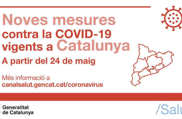 Recordatori: Aquestes són les mesures per la COVID-19 vigents fins al 6 de juny