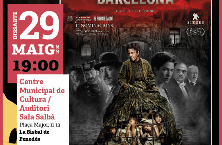 """El dissabte 29 de maig a les 19h projectarem la pel·lícula """"La vampira de Barcelona"""" del Cicle Gaudí al CMC"""