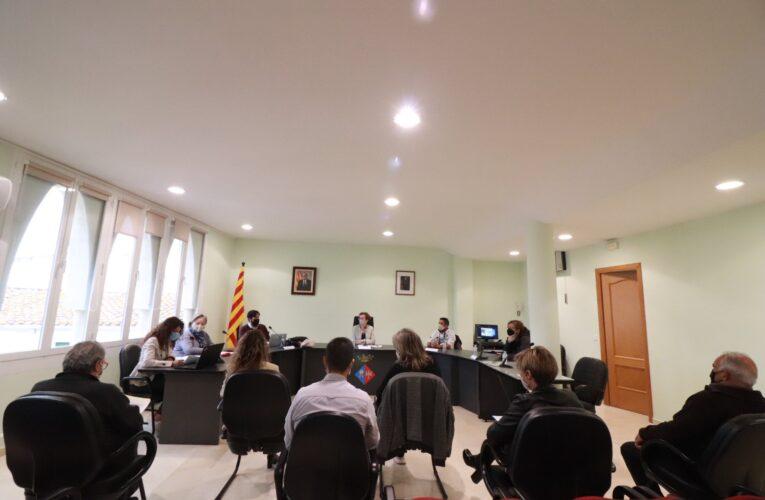 El passat divendres 30 d'abril es va celebrar un Ple extraordinari a l'Ajuntament de La Bisbal del Penedès