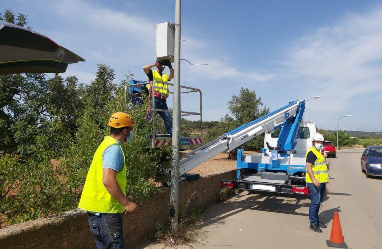 Comença la instal·lació de càmeres lectores de matrícules en diversos punts de la Bisbal del Penedès