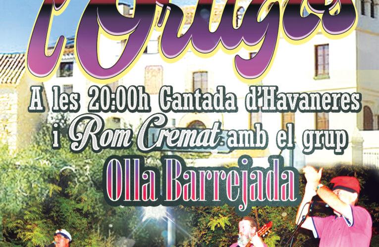 El diumenge 4 de juliol a les 20h hi haurà havaneres amb el grup Olla Barrejada a l'Ortigós