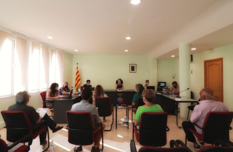 Aquest dilluns 21 de juny ha tingut lloc un Ple Ordinari a l'Ajuntament de La Bisbal del Penedès