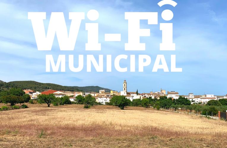 Es modifica el sistema per accedir a la Wifi gratuïta municipal en alguns espais municipals